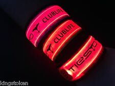 DJ TIESTO LED Concert Glow in the Dark Wristband Electronic EDM Club Life Trance