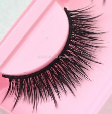 NEW Fashion Long Black Vital False Eyelashes Beautiful Makeup Eye Lashes 19#