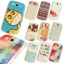Simple Fashion Painted Pattern Hard Skin Case Cover for Samsung Galaxy S3 S4 S5