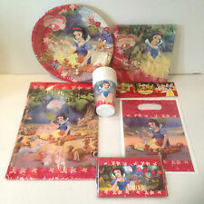 Disney Snow White Girls Birthday Party Table Decorations - Choose Items