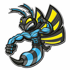 2 x Glossy Vinyl Stickers - Hornet Wasp Bike Helmet Cool Laptop iPad Decal #4005