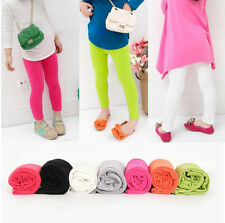 Kids Toddlers Girls Clothing Render Resilience Pants Leggings Trousers Ages 2-7Y