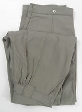 Womens Designer Acne Flipper Extra Baggy Trousers, Light Grey