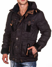 Naketano Herren Winterjacke Move Over K II black Herrenjacke Winter Jacke Neu