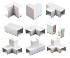 TRUNKING ACCESSORIES FLAT TEE/ANGLE INTERNAL/EXTERNAL COUPLER IN VARIOUS SIZES