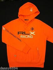 Polo Ralph Lauren RLX RACING Colorado Trail Pullover Sweatshirt Hoodie Bike Raft