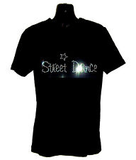 STREET DANCE CHILDRENS T SHIRT      CRYSTAL RHINESTONE DANCE DESIGN...any size