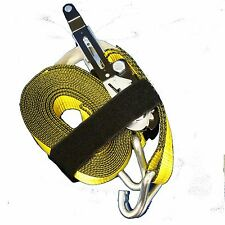 NEW! 2 in. x 27ft.Tie Down Strap Heavy Duty for Cargo Secure 10000 lb