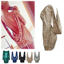 New Women Open back  long sleeve backless bodycon Clubwear party Dress