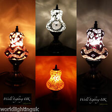 Turkish Tiffany Moroccan Mosaic Table Lamps - Multi listing from World Lighting