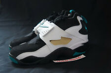 NIKE AIR DIAMOND TURF II 2 09 407911 031 GS 6Y BLACK DEEP EMERALD WHITE DT
