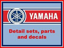 1:12 Yamaha detail parts, decal sets, reference books to suit Tamiya Fujimi etc.