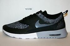 AUTHENTIC NIKE Air Max Thea Print Black Wolf grey Wht Grey # 599408 002 Women sz