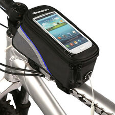 "CHEAP 5.5"" Cycling Bike Bicycle Frame Panniers Front Tube Cell Phone Bag Pouch"
