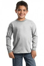 PORT AND COMPANY YOUTH KIDS LONG SLEEVE T-SHIRT TEE SHIRT S-XL PC61YLS