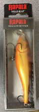 RAPALA SSR9 & SSR7 SHALLOW SHAD RAP FRESHWATER AND SALTWATER LURES BRAND NEW