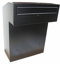 w3-2 Post Box For Gates, Rear Access Letterbox, Rear Retrieval Mail Boxes