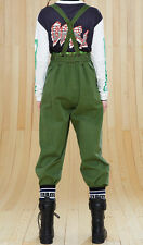 NWT Marc by Marc Jacobs Fatigue Green Classic Cotton Pants 0 2 4 6 8 10 12 $358