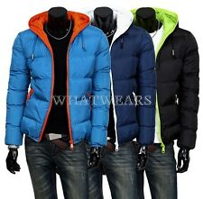 2014 Mens Winter Jacket Hooded Wadded Coat Thickening Outerwear Male Slim GBW