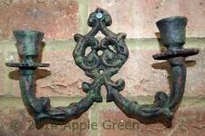 Candle Stick Holder Wall Sconce Cast Iron  Shabby Chic French Vintage Style NEW