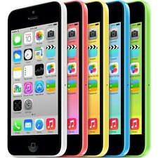 UNLOCKED Apple iPhone 5C 16GB Blue-Pink-White-Green International Shipping Avail