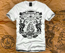 T-SHIRT TATTOO WASTED SAILOR DIRTY HIPSTER SWAG OBEY JERRY DISOBEY MEOW DOPE HUF