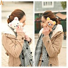 3D Cute Teddy Bear Cool Plush Toy Doll Case Cover For Various Nokia Phones