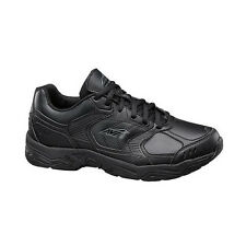 Avia AVI UNION A1439 Womens Black Grey Lace Up Slip Resistant Work Sneaker Shoes