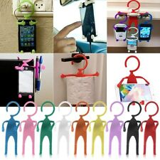 Novelty Hanging Man Guy Fun Flexible Mount Holder for Mobile Cell Phone GPS MP4