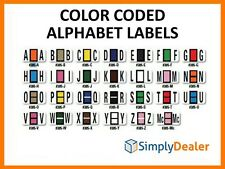 Color Coded Alphabets Ringbook 270 For Automotive Systems Color-Code Filing