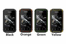 Hummer H1+ Android Cell Phone 5MP GPS Shockproof Waterproof Mobile WIFI dual cor