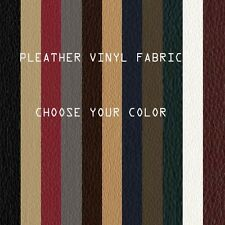 "Faux Leather Fabric Pleather Fake Leather Vinyl Fabric 54"" Wide By the Yard"
