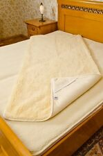 LUXURY MATTRESS TOPPER UNDER BLANKET CASHMERE-SUPER WASH REALY TOP PRODUCT