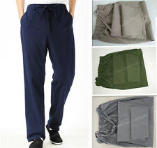 100% Cotton Kung Fu Tai chi Wu shu Martial Arts Bruce Lee Coarse cloth Pants Men