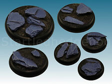 Highland Slate resin bases great for Malifaux, Warmachine and Hordes