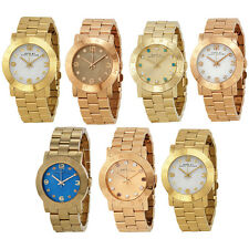 Marc Jacobs Amy Gold or Rose Gold-Tone Ladies Watch
