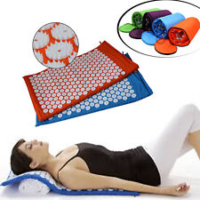 High Quality Acupressure Mat Acupuncture Spike Yoga Mat+ Free Bag+ Free Ship Hot