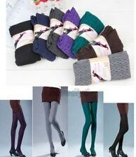 Womens Thick Tights Knit Winter Footed Warm Cotton Stockings Pantyhose