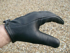 Deerskin motorcycle gloves  with a patented wedge design  - Cruiser - Harley