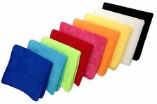 """24 Microfiber 12""""x12"""" Cleaning Cloths Detailing Polishing Towels Rags 300GSM"""
