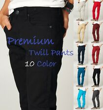 New Mens Skinny Fit Casual Pants Slim Stretch Pencil Jeans Trousers GS01-10Color