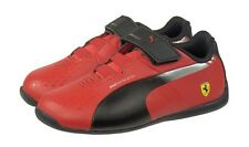 PUMA evoSPEED Ferrari Toddler 305168-01 Red Black Sz5-10T Fast Shipping