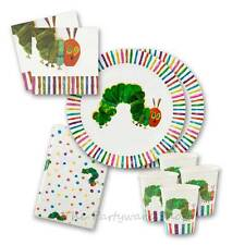 NEW - The Very Hungry Caterpillar - Birthday Party Tableware Packs for 8 &16