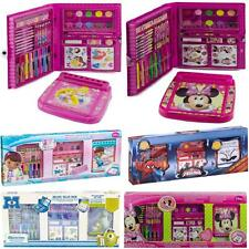 DELUXE VALUE PACK DRAWING COLOURING ART SET PAINT CRAYON CASE ACTIVITY XMAS GIFT