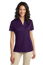 Womans Port Authority Silk Touch Performance Polo L540 Polyester
