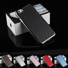"""NEW Matte Carbon Fiber Leather Case Cover Skin for Apple iPhone 6 4.7""""/Plus 5.5"""""""