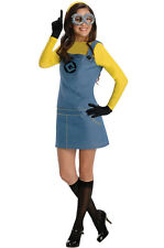 Despicable Me 2 Female Minion Adult Halloween Costume