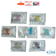 CHOICE OF SIZE & 1 2 5 10 15 20 25 30 40 50 100 BUTTERFLY CANNULA WINGS CHEAPEST