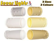 * 5 CHANDELIER CANDLE PLASTIC DRIPS LIGHT PENDANT BULB COVER SLEEVE ANTIQUE LOOK