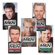 JUST FOR MEN SHAMPOO IN HAIR COLOUR DYE - ALL COLOURS